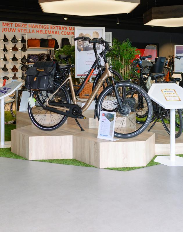 Bezoek één van onze E-bike Testcenters